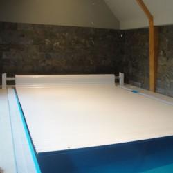 Ролетное накрытие для бассейна надводная Protect 12х5м