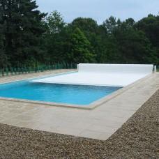 Укрытие для бассейна ролета для бассейна надводная Protect 9х4м