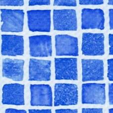 Пленка для бассейна лайнер SBGD 160 SUPRA 1.65 м Mosaic blue