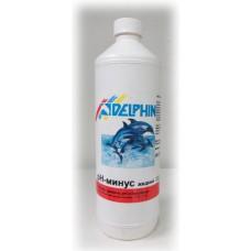 Химия для бассейнов рН минус DELPHIN, жидкий 3 л