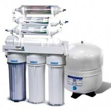 Фильтры для очистки воды система обратного осмоса Leaderfilter Standard RO-6 МТ18 BIO с минерализатором