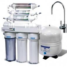 Фильтры для очистки воды система обратного осмоса Leaderfilter Modern RO-6 МТ18 BIO с минерализатором