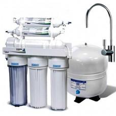 Фильтры для очистки воды система обратного осмоса Leaderfilter Modern RO-6 МТ18 с минерализатором
