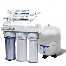 Фильтры для очистки воды система обратного осмоса Leaderfilter Standard RO-6 МТ18 с минерализатором