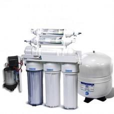 Фильтры для очистки воды система обратного осмоса Leaderfilter Standard RO-6 P МТ18 с минерализатором
