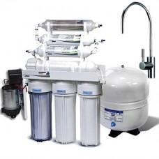 Фильтры для очистки воды система обратного осмоса Leaderfilter Modern RO-6 P МТ18 BIO с минерализатором