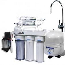Фильтры для очистки воды система обратного осмоса Leaderfilter Modern RO-5 P МТ18 BIO