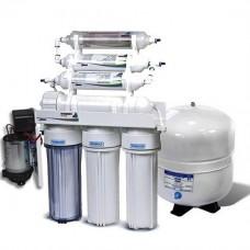 Фильтры для очистки воды система обратного осмоса Leaderfilter Standard RO-6 P МТ18 BIO с минерализатором
