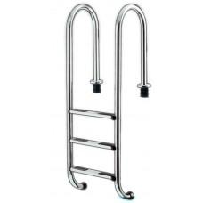 Оборудование для бассейнов лестница IDEAL Eichenwald 3 ступен4