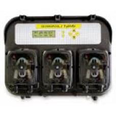 Оборудование для бассейнов дозирующая станция PH RX Temp c перистальтическими насосами по 1,4/1,4/1,4 л/ч