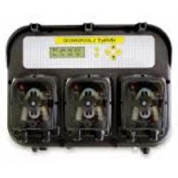 Дозирующая станция PH RX Temp c перистальтическими насосами по 1,4/1,4/1,4 л/ч