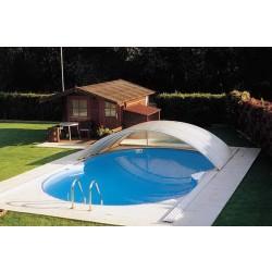 Каркасный бассейн в форме восьмерки 6,25х3,6х1,5 м