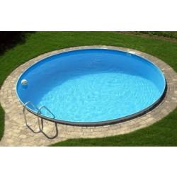 Каркасный бассейн круглый 5х1,2 м