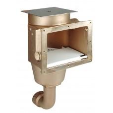 Оборудование для бассейнов скиммер из бронзы Hugo Lahme AllFit, Fitstar