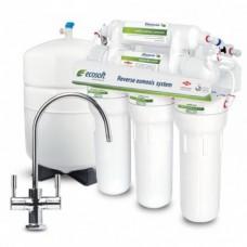 Фильтры для очистки воды система обратного осмоса Ecosoft MO 6-75M с минерализатором