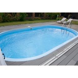 Композитный бассейн Ницца 6х3х1,5м