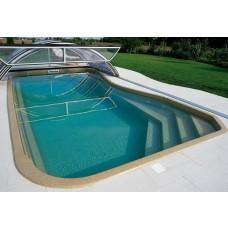 Бассейны композитный бассейн Ялта 7,6х3,4х1,7 м