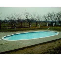 Композитный бассейн Эльдорадо 9,2х4,3х1,7м