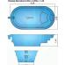 Бассейны композитный бассейн Гурон 5,2х2,8х1,4 м