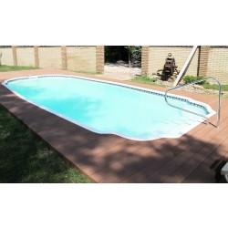 Композитный бассейн Онтарио 8,8х4х1,65м